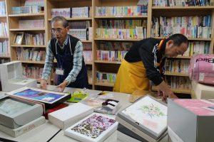 ㈱オカダ菅谷さんとハウスボランティア